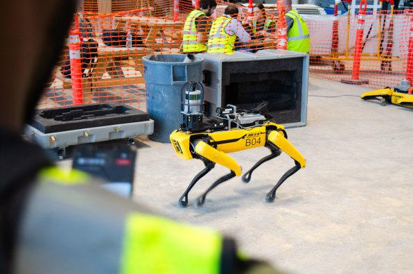 Boston Dynamics' Spot robot dog is finally doing useful work