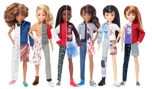 Pink for girls and blue for boys? What toymakers get wrong about gender