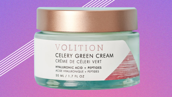 Celery Green Cream With Hyaluronic Acid + Peptides by Volition Beauty #10