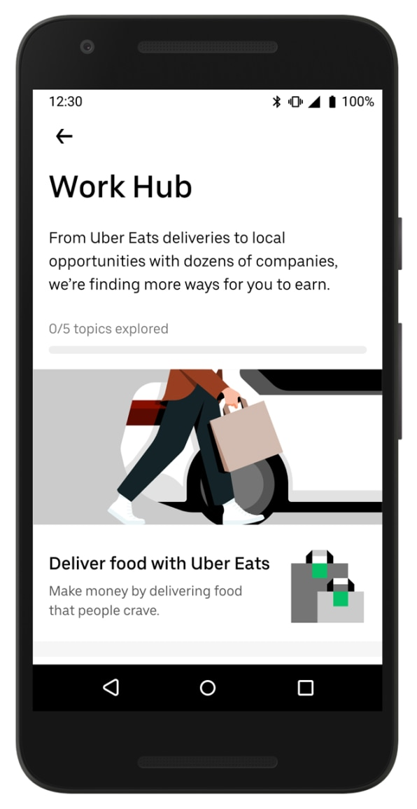 Uber app will list job openings for drivers during COVID-19