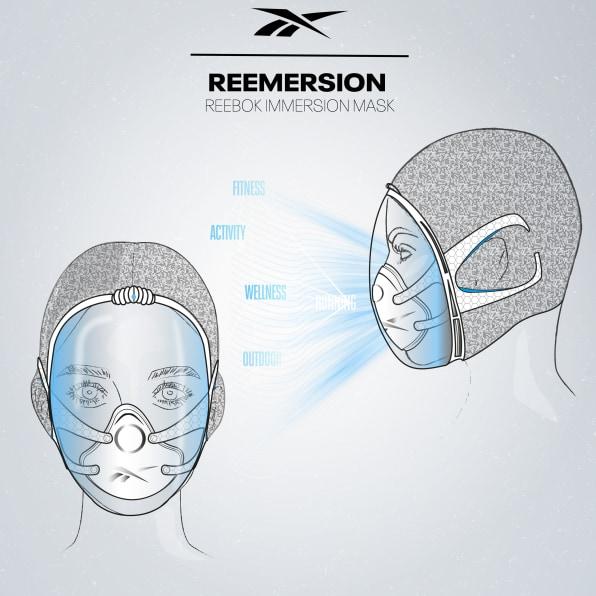 Reebok-mask