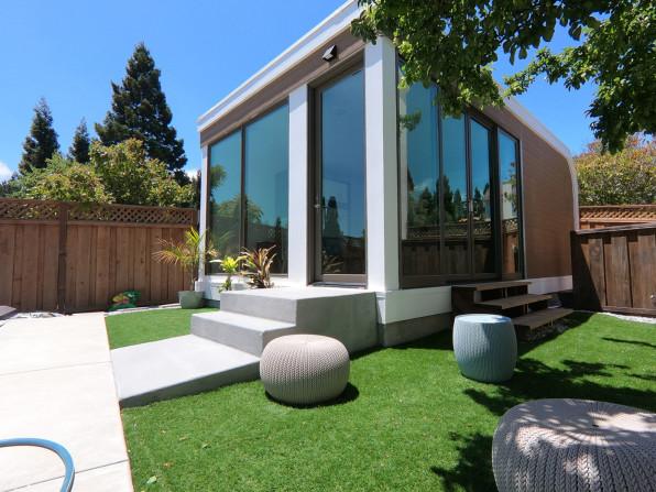 Estas lindas casas en el patio trasero se pueden imprimir completamente en 3D