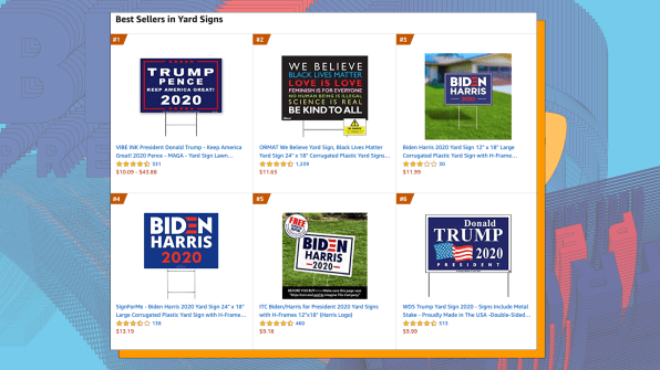 Take A Look At The Best Selling Trump And Biden Merch On Amazon