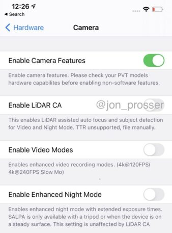 prosser1 e1599027353639 338x457 - iPhone 12 will get the identical Sony lidar tech as iPad Professional