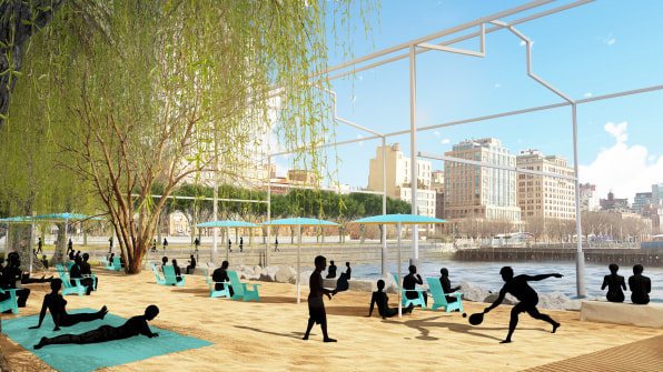 07 new yorks new beach reinvents the waterfront