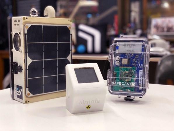 i airnote radiation sensor with predecessors 2