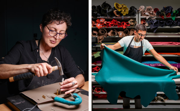 i leather hermes most innovative companies 2021 HERMES ATELIER REPARATION
