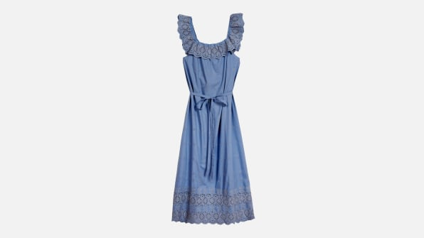 i 6 sustainable clothing brands 90626395 christy dawn farm to closet mairin dress blue with waist tie