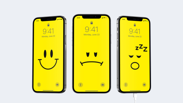 i 1 90632845 this clever iphone wallpaper ensures your battery will never die again