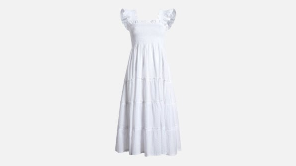 i 1 why the nap dress is my post pandemic outfit of choice 90634780 hill house home ellie white swiss dot