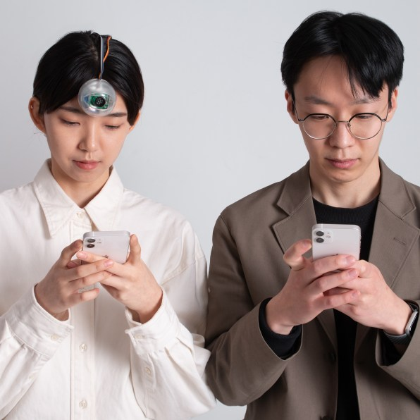 i 2 90636381 never faceplant again staring at your phone thanks to this robotic third eye