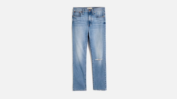 i 2 madewell designed a lightweight hemp denim line for the summer and i m totally in love 90632466 high rise slim boyjean