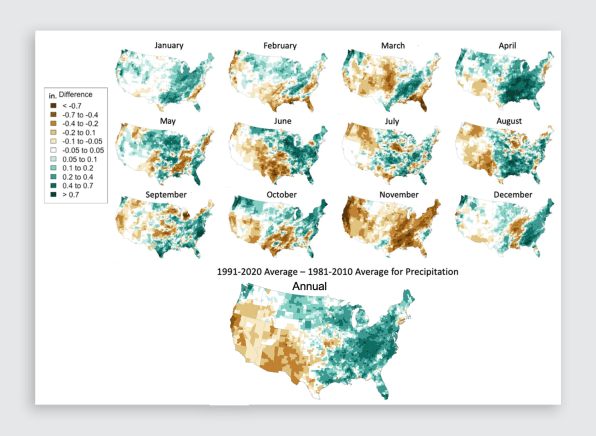 i 5 90635462 warming is clearly visible in new us and8216climate normaland8217 datasets