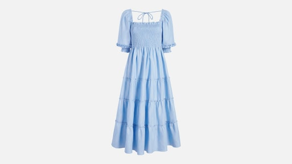 i 7 hill house home nesli nap dress light blue glitter check