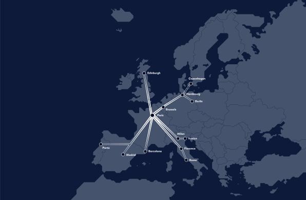 MIDNIGHT TRAINS Map