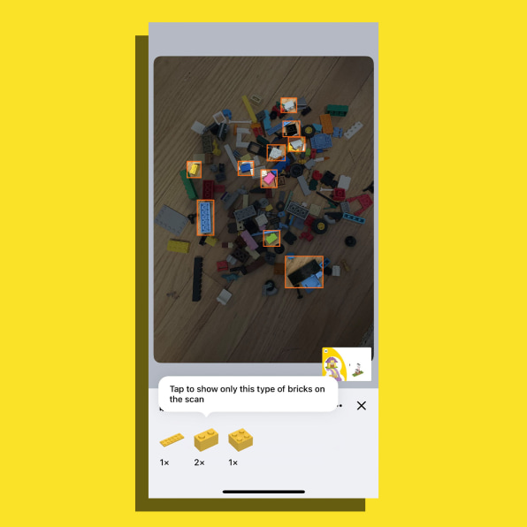 i 5 90652594 got a pile of random lego this amazing app tells you what you can build