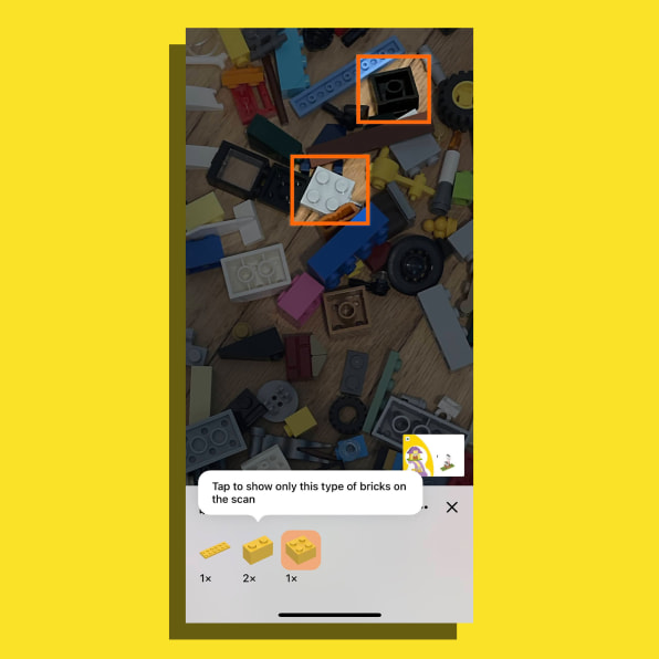 i 6 90652594 got a pile of random lego this amazing app tells you what you can build