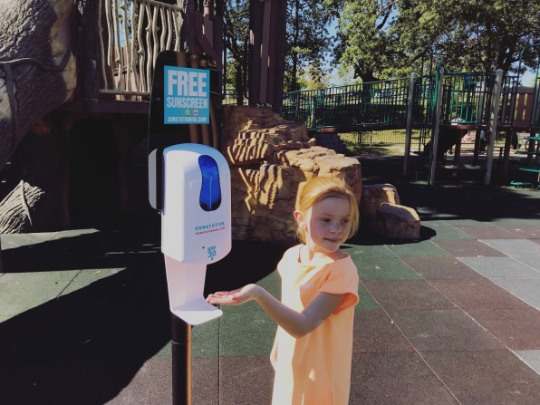 i 2 90662443 sunscreen dispensers are indispensable as extreme heat rises across the us