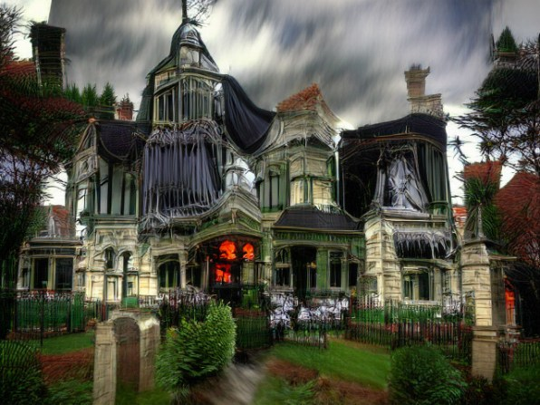 i 3 90685564 this ai generated haunted house is way creepier than the real thing