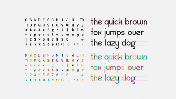 The Rainbow Flag Is Now An Awesome Font