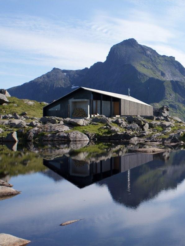 Snøhetta Designs The Ultimate Vacation Cabin