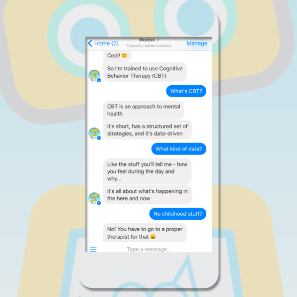 Your Next Therapist Might Be A Chatbot