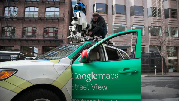 How Google Is Using Its Street View Cars To Map More Than Roads