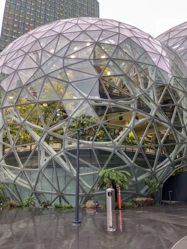 A First Look At The Spheres, Amazon's Wild New Corporate Biodome