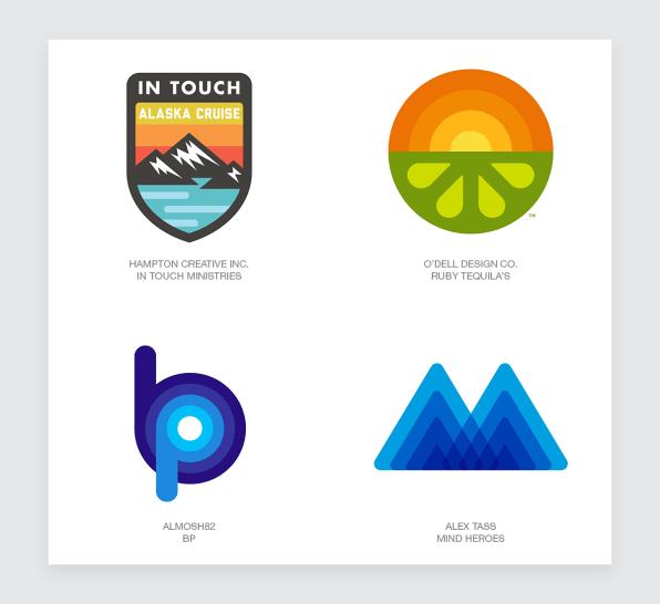 Rip Minimalism Retro Logos Are Back
