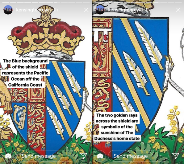 Meghan Markle S Coat Of Arms Is The Biggest Design Crime Of 2018