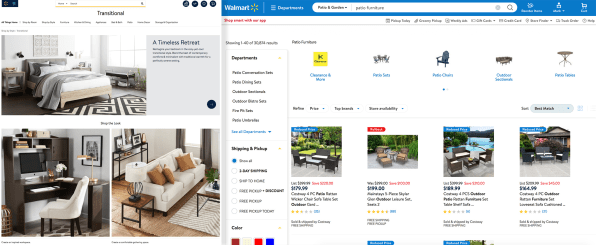 Exclusive Walmart Com Redesigns As The Anti Amazon