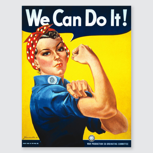 The Untold Story Of The Iconic Rosie The Riveter Poster