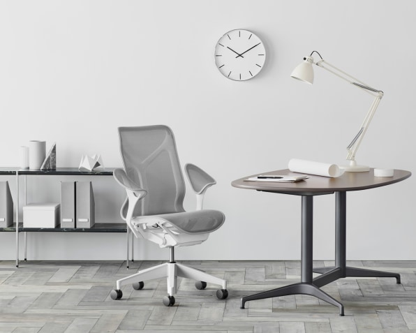 The Cosm Chairs Most Obvious Innovation Is Its Arms, Which Offer  Hammock Like Support Without Any Adjustment. [Photo: Courtesy Herman Miller]