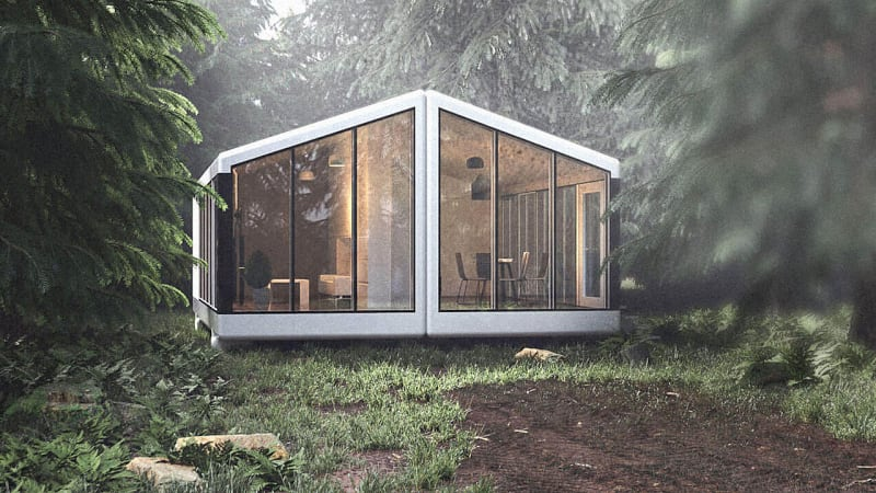 These gorgeous tiny houses can operate entirely off the grid
