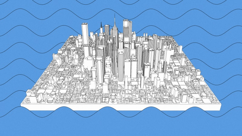 I study floating cities. I'm convinced offshore living is the future