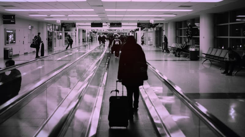 A database containing photos of travelers entering and leaving the U.S. has been hacked