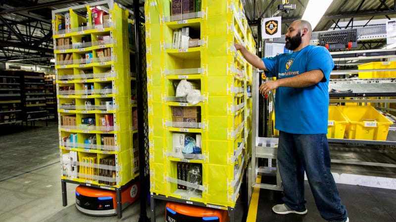 Amazon is going to train 100,000 workers in these 6 areas of tech