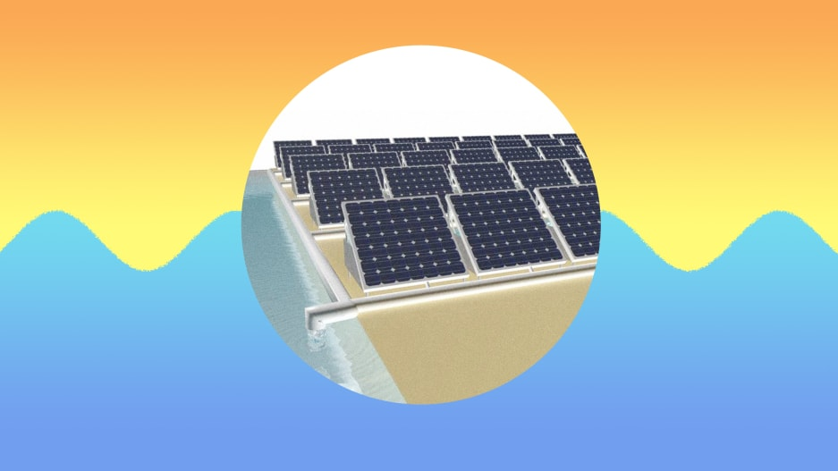 These solar panels don't just generate power—they produce drinking water