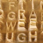 The Letters Of The Alphabet Mapped In 3-D, Like A City