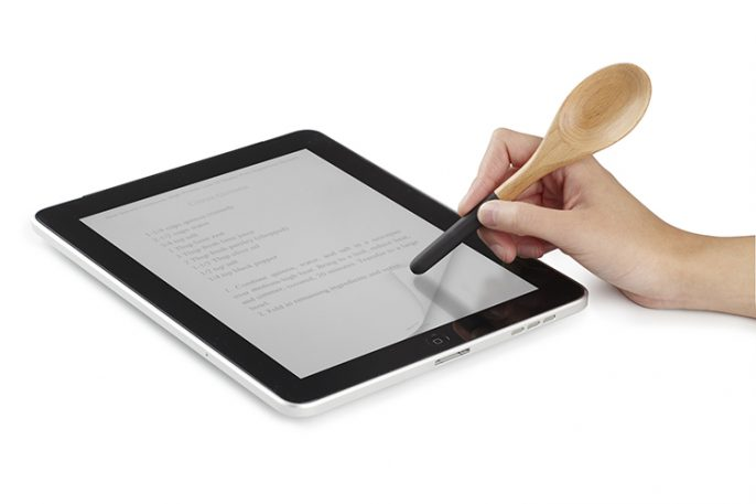 A Spoon That Doubles As An iPad Stylus