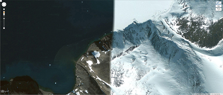 Art That Exposes Weird Glitches In Google Maps