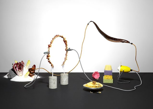 Bizarre Still Lifes Of Food, Rigged Like Explosives