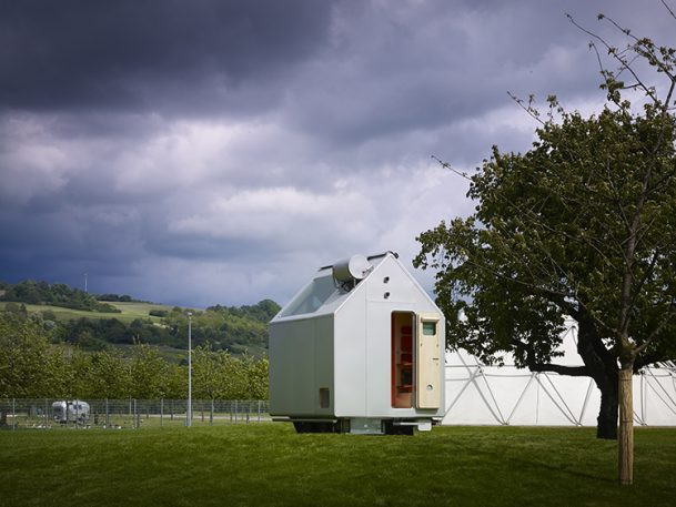 Renzo Piano's Latest: An Off-The-Grid, One-Person Mobile Home