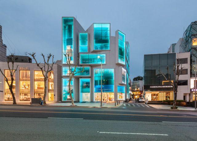 Extreme Makeover: MVRDV Transforms A Drab Building With A Splashy Facade