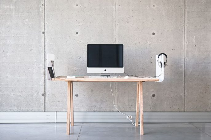 A Customizable Desk System That Tames Creative Chaos