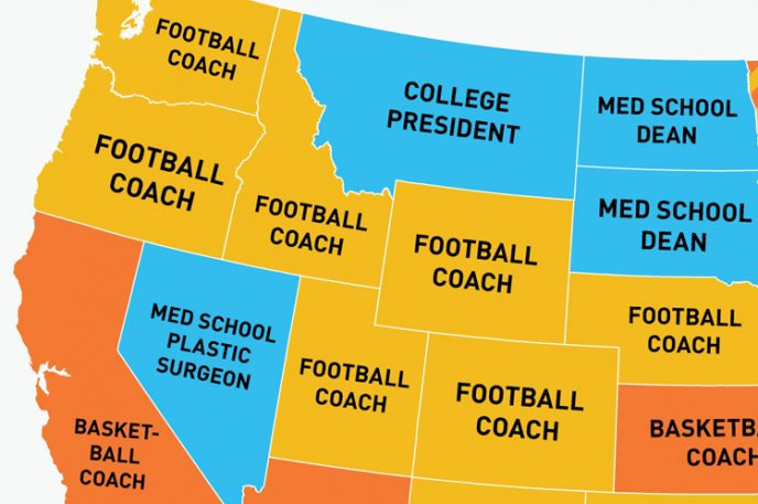 Infographic: Who's The Highest-Paid Public Employee In Your State?