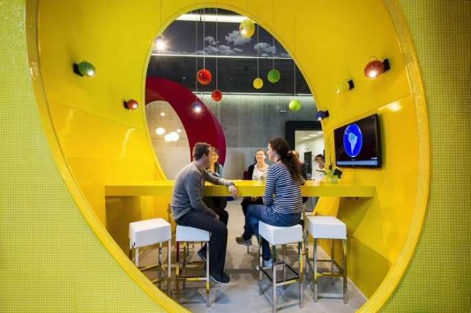 Tour Google's New Dublin Campus, A Playground For Nerds