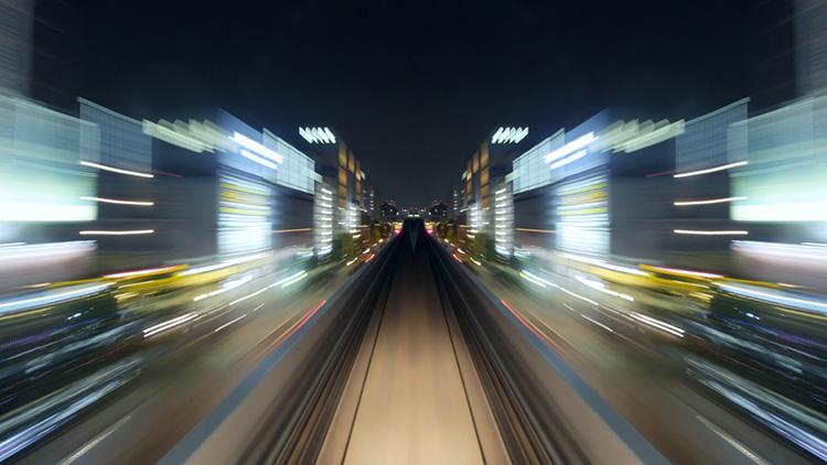 Video: Take A Surreal 1,000 MPH Train Ride Through Tokyo