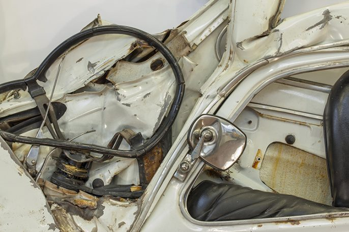 A New Exhibition Celebrates The Beauty Of Crushed Cars