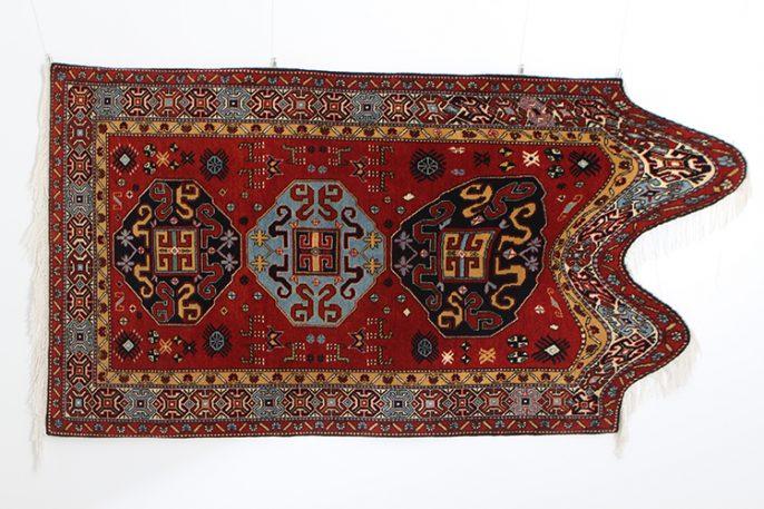 Traditional Azerbaijani Carpets Get A Glitchy Makeover